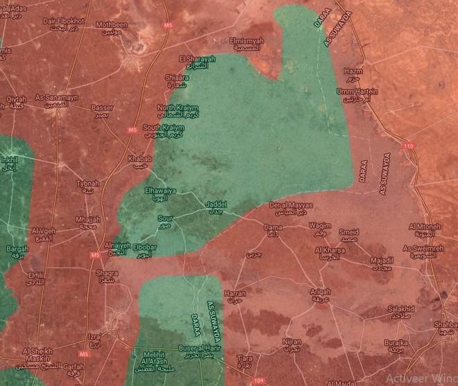 Nga trực tiếp không kích Daraa, Mỹ bỏ rơi lực lượng đối lập Syria ngay khi bom dội xuống