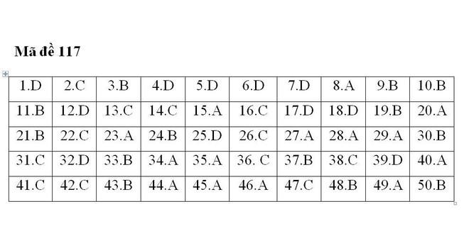 Gợi ý đáp án 24 mã đề thi môn Toán kỳ thi THPT Quốc gia 2018 - Ảnh 9.