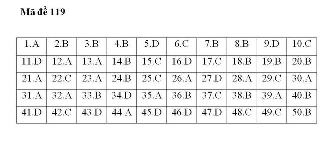 Gợi ý đáp án 24 mã đề thi môn Toán kỳ thi THPT Quốc gia 2018 - Ảnh 4.