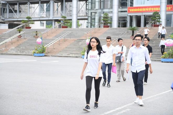 Thí sinh phấn khởi nói đề thi Ngữ văn THPT Quốc gia 2018 không quá khó - Ảnh 6.