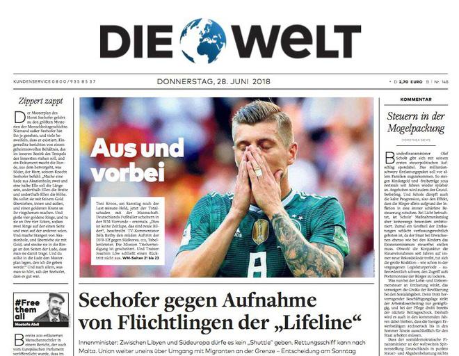 Báo chí quốc tế chấn động khi Đức thảm bại: 'Sự kết thúc của thế giới chúng ta từng biết' 2