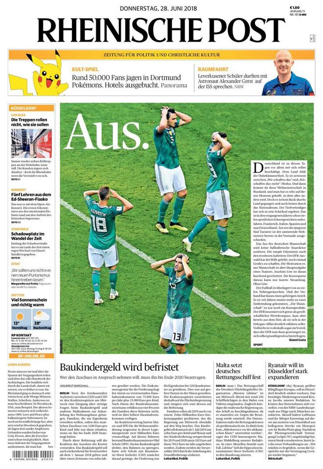 Báo chí quốc tế chấn động khi Đức thảm bại: 'Sự kết thúc của thế giới chúng ta từng biết' 3