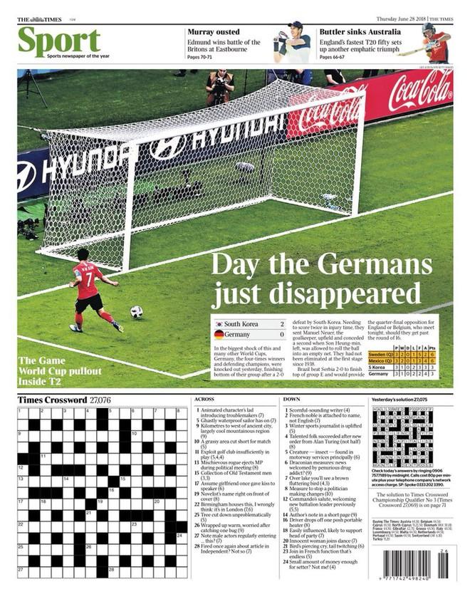 Báo chí quốc tế chấn động khi Đức thảm bại: 'Sự kết thúc của thế giới chúng ta từng biết' 7