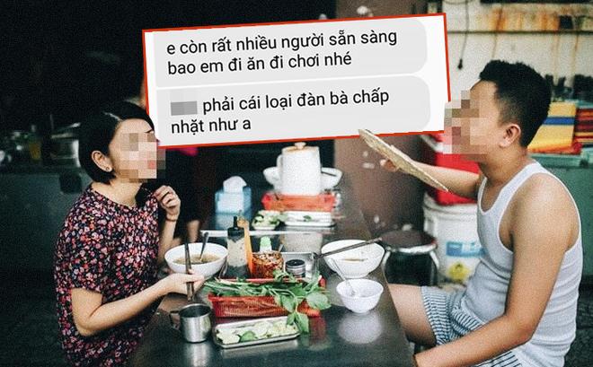 """Đi ăn bị bạn trai nhắc trả tiền, cô gái ấm ức nhắn tin """"sao anh hèn thế"""" và phản ứng bất ngờ"""