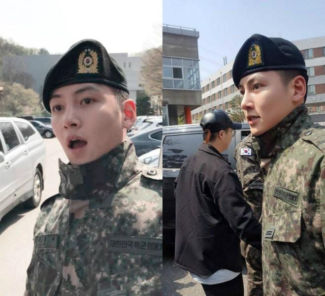 Dàn mỹ nam xứ Hàn khi vào quân ngũ: Người đẹp xuất sắc như đóng phim, kẻ xập xệ đến mức khó nhận ra - ảnh 3