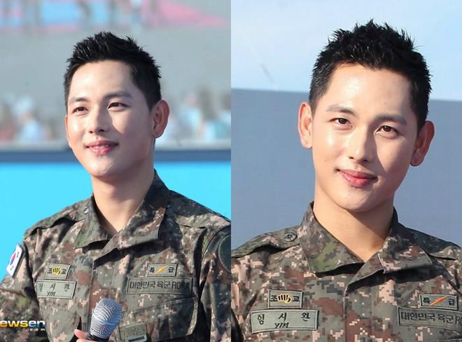 Dàn mỹ nam xứ Hàn khi vào quân ngũ: Người đẹp xuất sắc như đóng phim, kẻ xập xệ đến mức khó nhận ra - ảnh 21