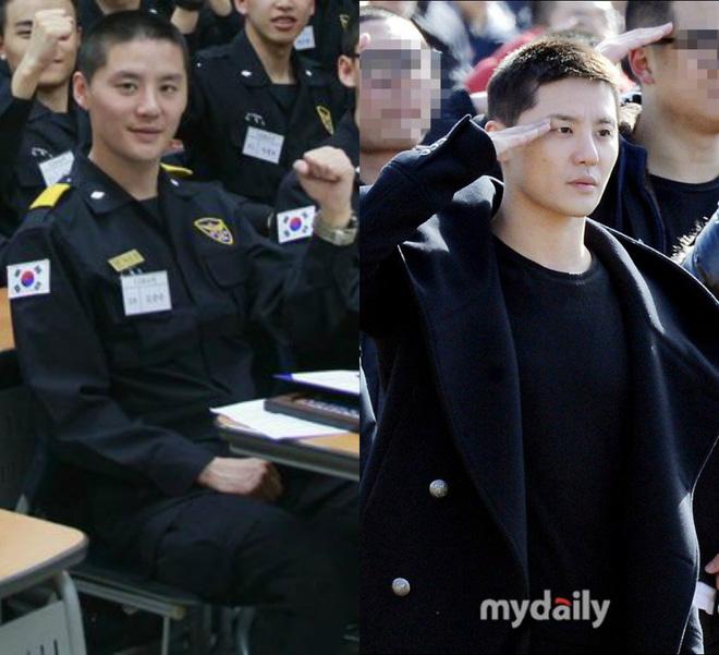 Dàn mỹ nam xứ Hàn khi vào quân ngũ: Người đẹp xuất sắc như đóng phim, kẻ xập xệ đến mức khó nhận ra - ảnh 24