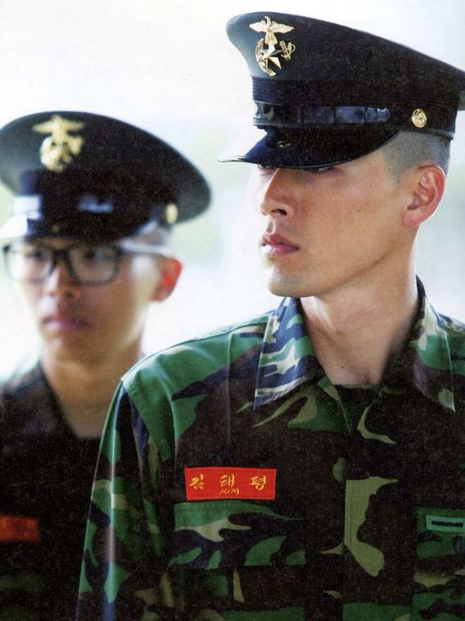 Dàn mỹ nam xứ Hàn khi vào quân ngũ: Người đẹp xuất sắc như đóng phim, kẻ xập xệ đến mức khó nhận ra - ảnh 9