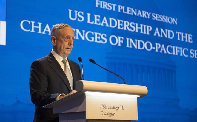"""Tướng Mattis cảnh báo TQ sẽ chịu hậu quả """"lớn hơn rất nhiều"""" nếu tiếp tục quân sự hóa ở biển Đông"""