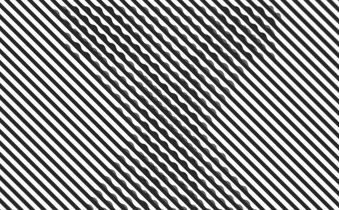 Chữ cái bạn nhìn thấy trong bức tranh ảo giác tiết lộ bạn thuộc tuýp người hướng nội hay hướng ngoại