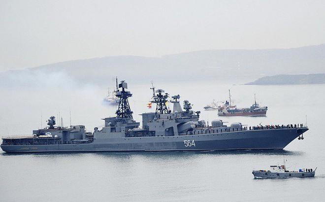 TASS: Đội tàu Hải quân Nga sẽ diễn tập với Hải quân Việt Nam ngoài khơi Cam Ranh