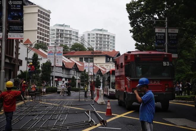 Singapore tất bật lập chốt an ninh, phân luồng giao thông trước thượng đỉnh Mỹ - Triều - Ảnh 1.