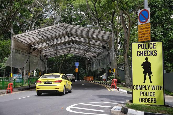 Singapore tất bật lập chốt an ninh, phân luồng giao thông trước thượng đỉnh Mỹ - Triều - Ảnh 3.