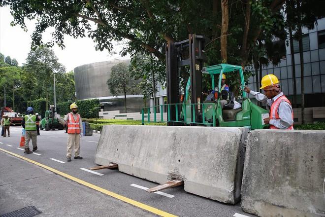Singapore tất bật lập chốt an ninh, phân luồng giao thông trước thượng đỉnh Mỹ - Triều - Ảnh 6.