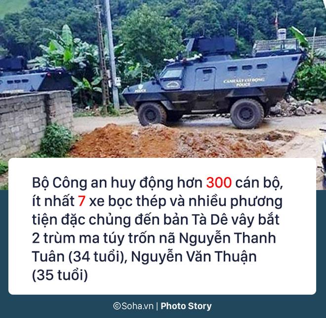 72 giờ, 300 cảnh sát, 7 xe bọc thép vây ráp và hành trình tiêu diệt 2 trùm ma túy 2