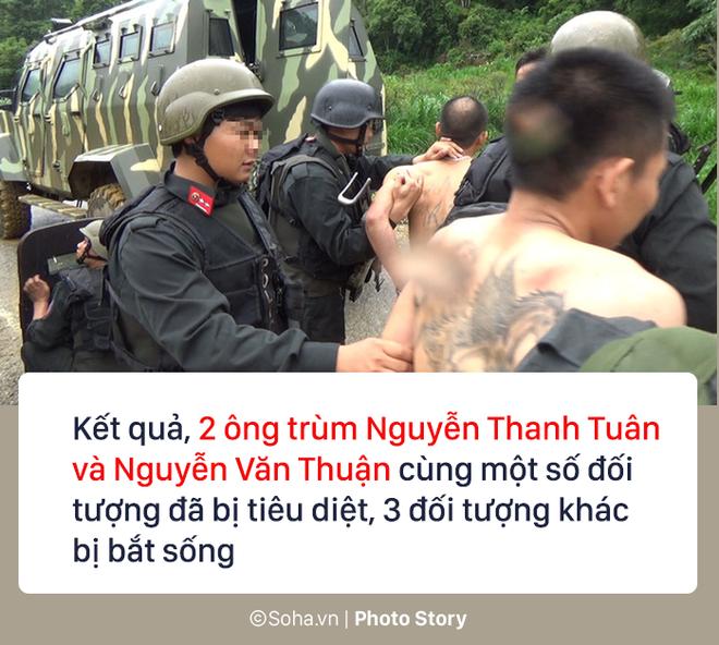 72 giờ, 300 cảnh sát, 7 xe bọc thép vây ráp và hành trình tiêu diệt 2 trùm ma túy 7