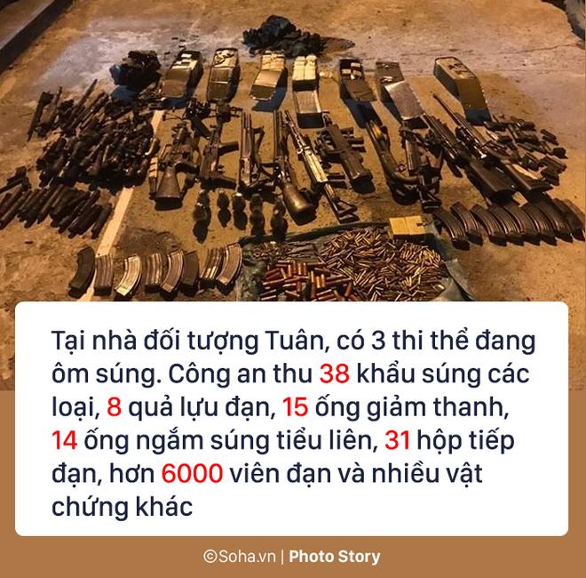 72 giờ, 300 cảnh sát, 7 xe bọc thép vây ráp và hành trình tiêu diệt 2 trùm ma túy 8