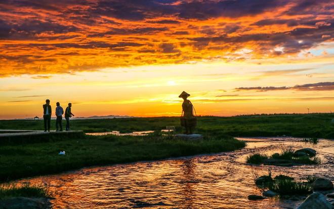 24h qua ảnh: Cá chết trắng phủ kín mặt hồ ở Hà Nội - Ảnh 7.