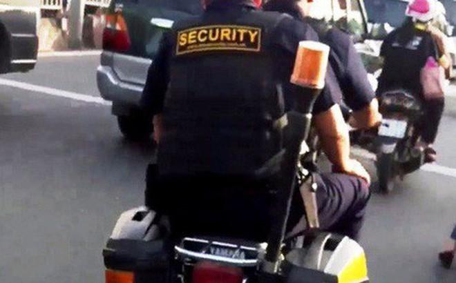Công ty KTC lên tiếng vụ bảo vệ mang súng, nghênh ngang