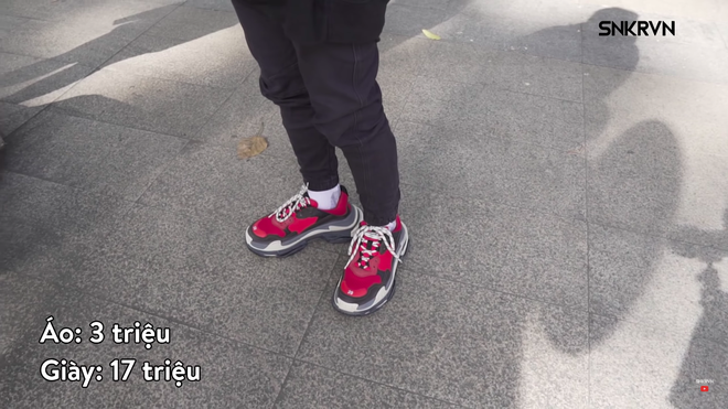 Áo 10 triệu, giày 25 triệu, túi 60 triệu... các bạn trẻ Việt khoe đồ hiệu gây choáng váng - Ảnh 9.