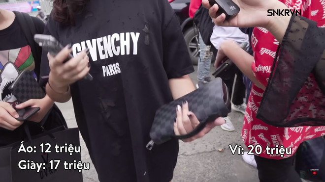 Áo 10 triệu, giày 25 triệu, túi 60 triệu... các bạn trẻ Việt khoe đồ hiệu gây choáng váng - Ảnh 12.