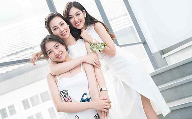 """""""Nhà có 3 nàng tiên"""" phiên bản đời thực: Ai cũng xinh đẹp, dáng chuẩn và cùng thi hoa hậu"""