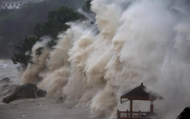 24h qua ảnh: Ngựa mắc kẹt trên mái nhà sau đợt lũ lụt kinh hoàng ở Nhật Bản - ảnh 2