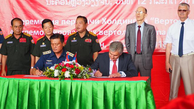 Ai giúp trực thăng Mi-17 và Mi-171V của Không quân Lào tái sinh: Việt Nam hay Nga? - ảnh 1