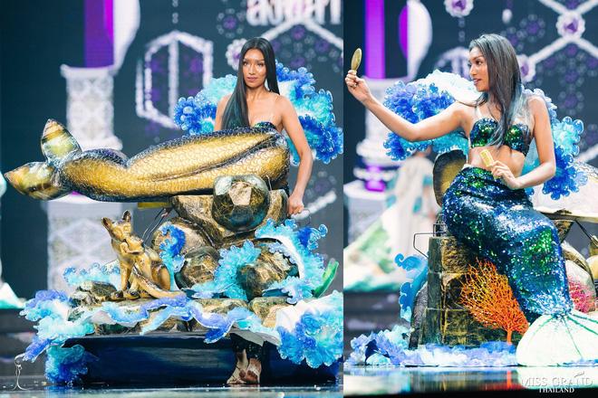 Dàn thí sinh Hoa hậu Hòa bình Thái Lan: Người cưỡi khủng long, kẻ biến thành tô tom yum chua cay trên sân khấu - Ảnh 5.