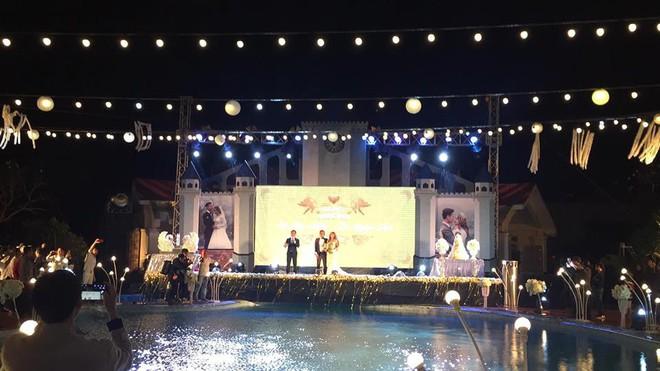 Lễ báo hỉ hoành tráng pool party ở Buôn Mê Thuột riêng tiền trang trí hết 200 triệu, 1.000 khách mời, sân khấu như lâu đài - Ảnh 7.