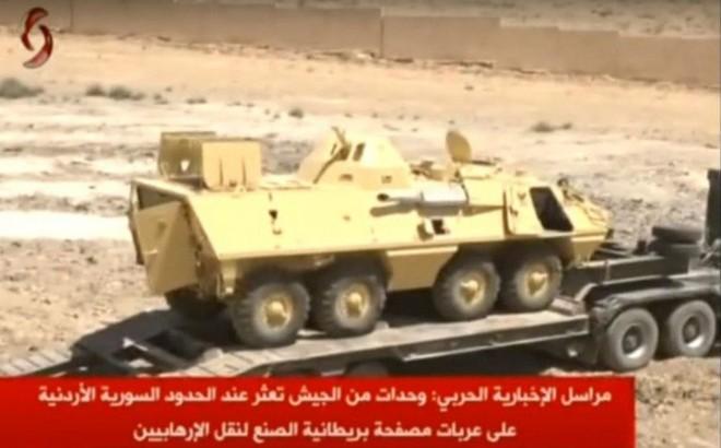 VIDEO: Syria thu giữ vũ khí xuất xứ châu Âu dọc biên giới Jordan