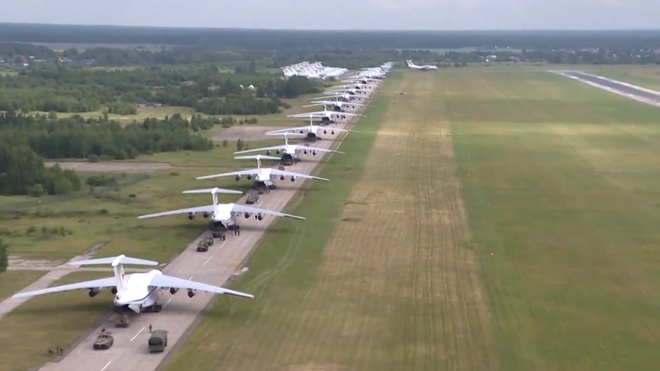 Màn biểu diễn Voi đi bộ hoành tráng của máy bay vận tải Nga - Ảnh 14.