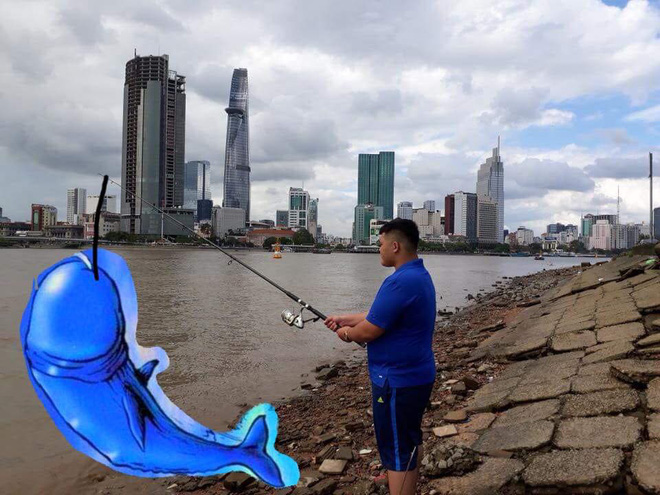 Đi câu cá, chàng trai bất ngờ kéo được cả Hoa hậu Đại dương từ dưới sông lên - ảnh 4