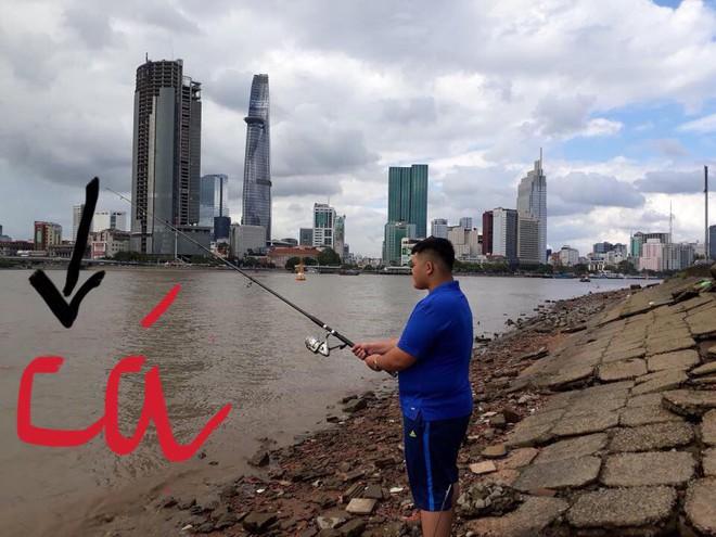 Đi câu cá, chàng trai bất ngờ kéo được cả Hoa hậu Đại dương từ dưới sông lên - ảnh 6