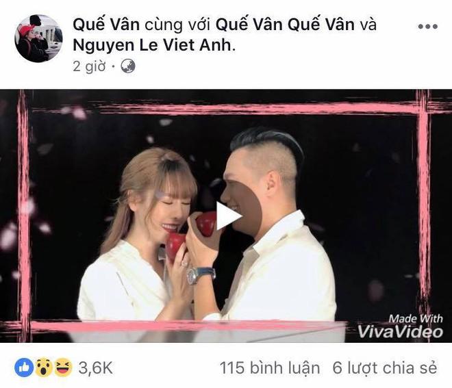 Việt Anh chính thức lên tiếng về scandal tình ái với Quế Vân - ảnh 1