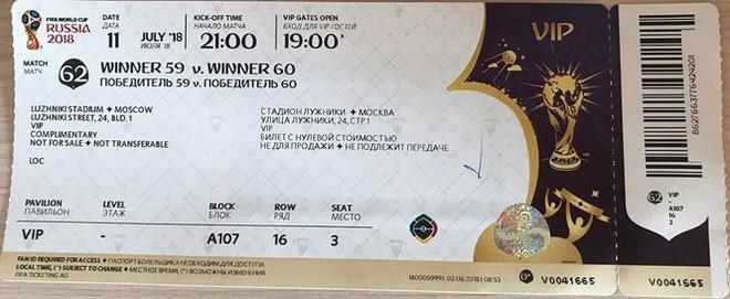 Ký sự World Cup 2018: Luzniki, niềm vui nỗi buồn bán kết  World Cup 2018 - Ảnh 1.