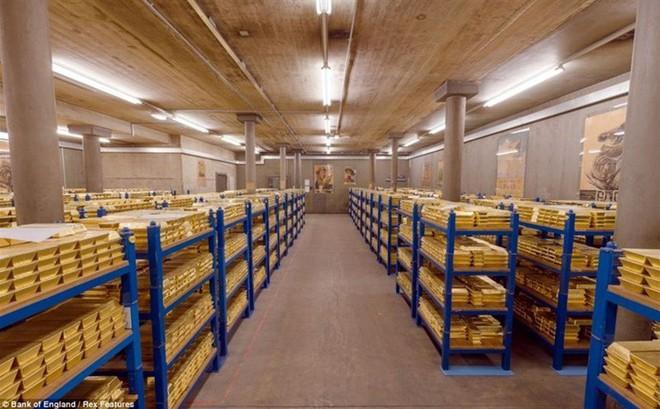Lượng vàng dự trữ trong hầm của quốc gia này đứng đầu thế giới