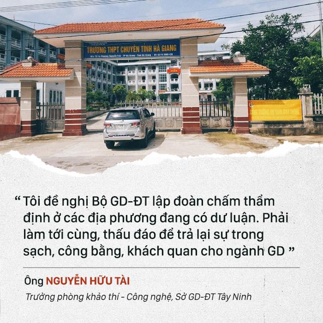 Bí thư Hà Giang Triệu Tài Vinh: Con gái học giỏi 3 năm liền, không việc gì tôi phải xin điểm - Ảnh 3.