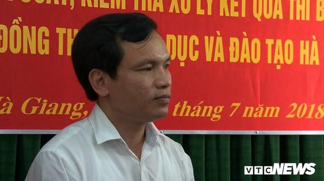 Gian lận chấm thi THPT Quốc gia 2018 ở Hà Giang: Đề nghị khởi tố vụ án - Ảnh 1.