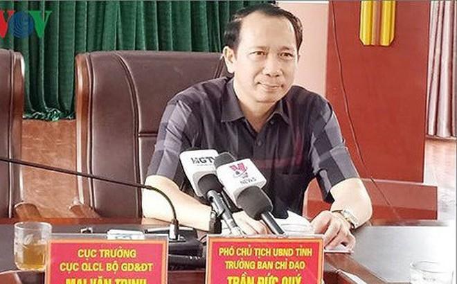 Sai phạm chấm thi ở Hà Giang: Dù con em lãnh đạo cũng xử lý theo pháp luật