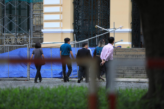 An ninh thắt chặt xung quanh phiên xử William Nguyen kích động biểu tình trái pháp luật - Ảnh 2.