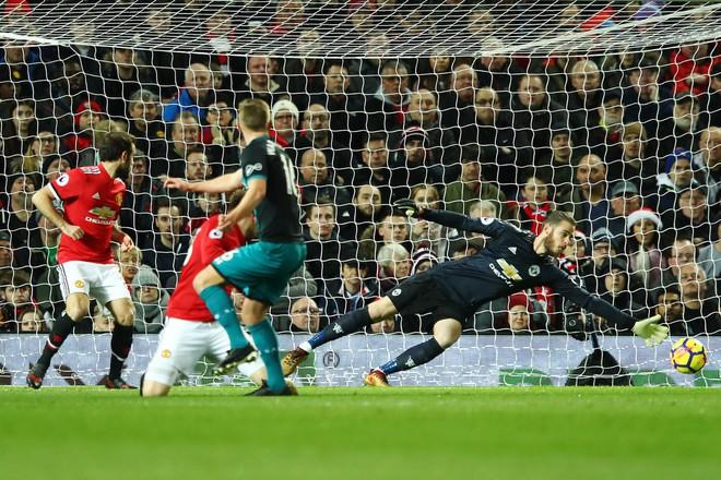 Thống kê kinh hoàng của David de Gea: Man United dở, hay Tây Ban Nha quá hay? - Ảnh 2.