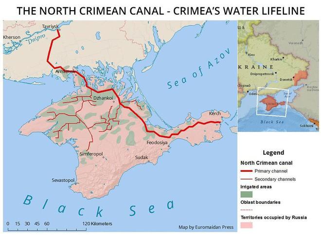 Hậu World Cup, Nga sẽ động binh với Ukraine vì tranh chấp nguồn nước tại Crimea? - Ảnh 1.