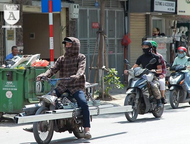 [ẢNH] Nắng nóng kéo dài, lại lo nguy cơ tai nạn giao thông cho những ninja đi xe máy - Ảnh 4.
