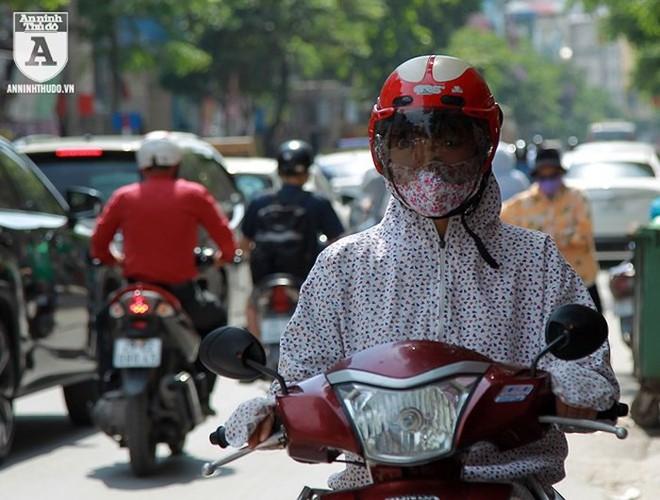 [ẢNH] Nắng nóng kéo dài, lại lo nguy cơ tai nạn giao thông cho những ninja đi xe máy - Ảnh 5.