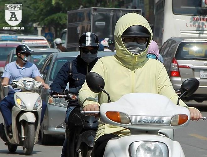 [ẢNH] Nắng nóng kéo dài, lại lo nguy cơ tai nạn giao thông cho những ninja đi xe máy - Ảnh 6.