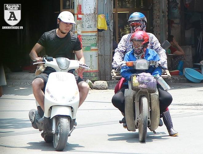 [ẢNH] Nắng nóng kéo dài, lại lo nguy cơ tai nạn giao thông cho những ninja đi xe máy - Ảnh 10.