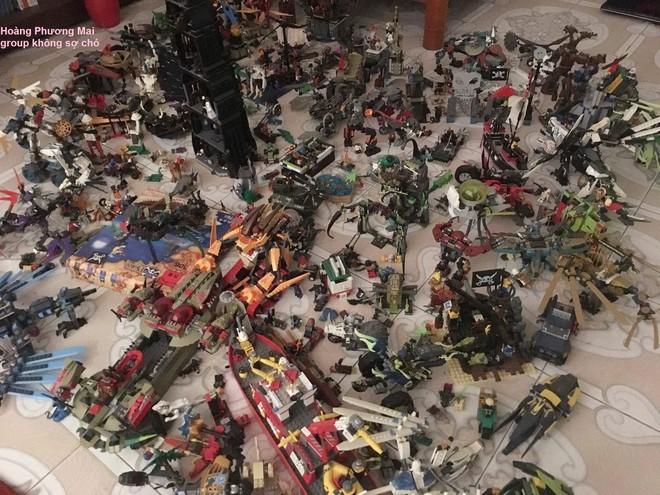 Bộ sưu tập lego hơn 20 triệu, tích góp trong 6 năm và chứa trong 4 phòng ngủ mới hết - Ảnh 3.