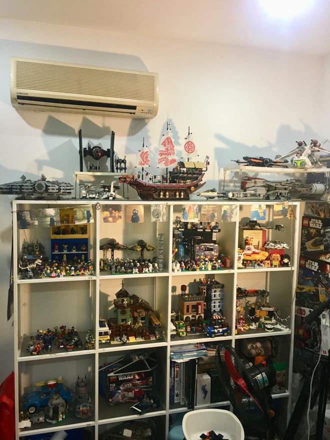 Bộ sưu tập lego hơn 20 triệu, tích góp trong 6 năm và chứa trong 4 phòng ngủ mới hết - Ảnh 8.