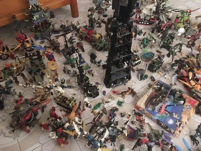 Bộ sưu tập lego hơn 20 triệu, tích góp trong 6 năm và chứa trong 4 phòng ngủ mới hết - Ảnh 4.